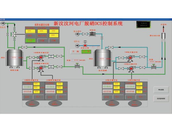 脱销控制系统案例-新泰新汶热电