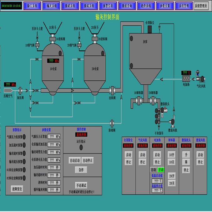 气力输灰控制系统