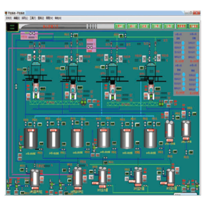 柠檬酸精提DCS控制系统